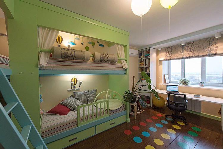 Детская спальня в 2-х ком. квартире. Казань