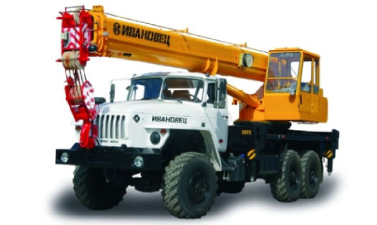 Автокран — 25 тоннМаксимальный вылет стрелы - 22 метраЦена: 1 650руб/час