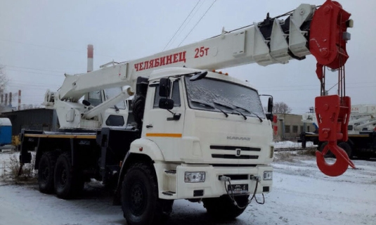 Автокран — 25 тоннМаксимальный вылет стрелы - 32 метраЦена: 1 700руб/час