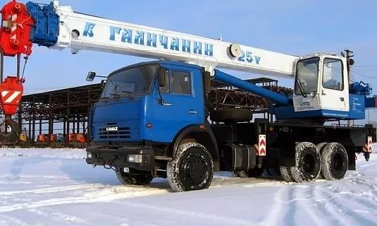 Автокран — 25 тоннМаксимальный вылет стрелы - 22 метраЦена: 1 600руб/час