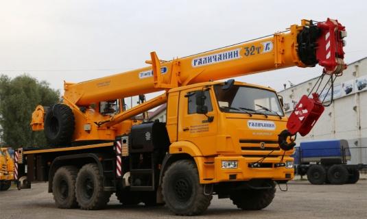 Автокран — 32 тонныМаксимальный вылет стрелы - 32 метраЦена:Договорная