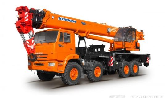 Автокран — 40 тоннМаксимальный вылет стрелы - 40 метровЦена:Договорная