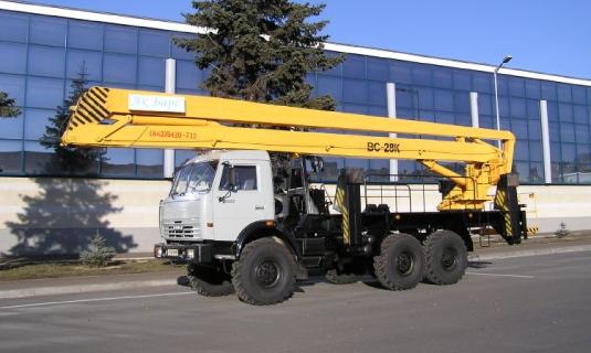 Автовышка — 28 метровЦена: 1 600руб/час