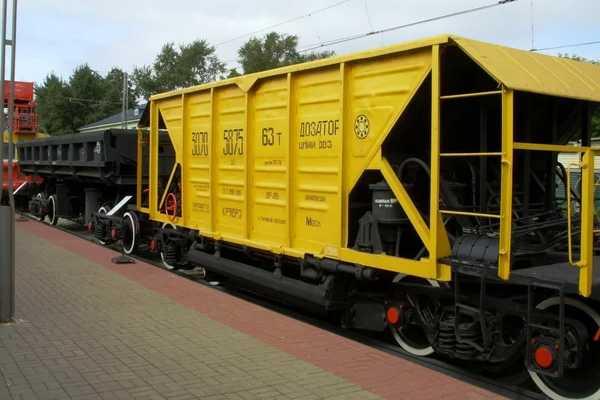 ХопперГрузовой вагон для перевозки сыпучих грузов: угля, руды, цемента, зерна, балласта, муки, удобрений.