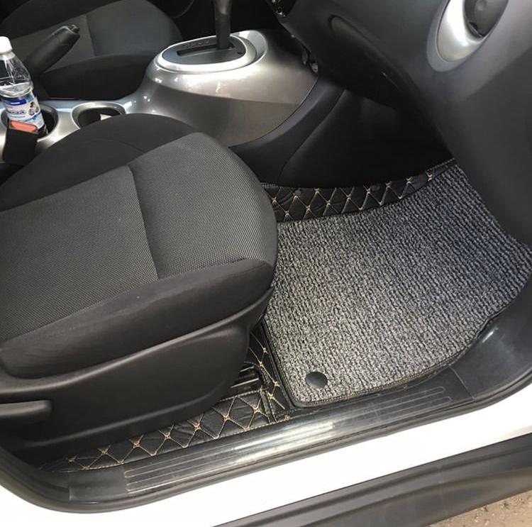 3D коврики из экокожи для Nissan Juke