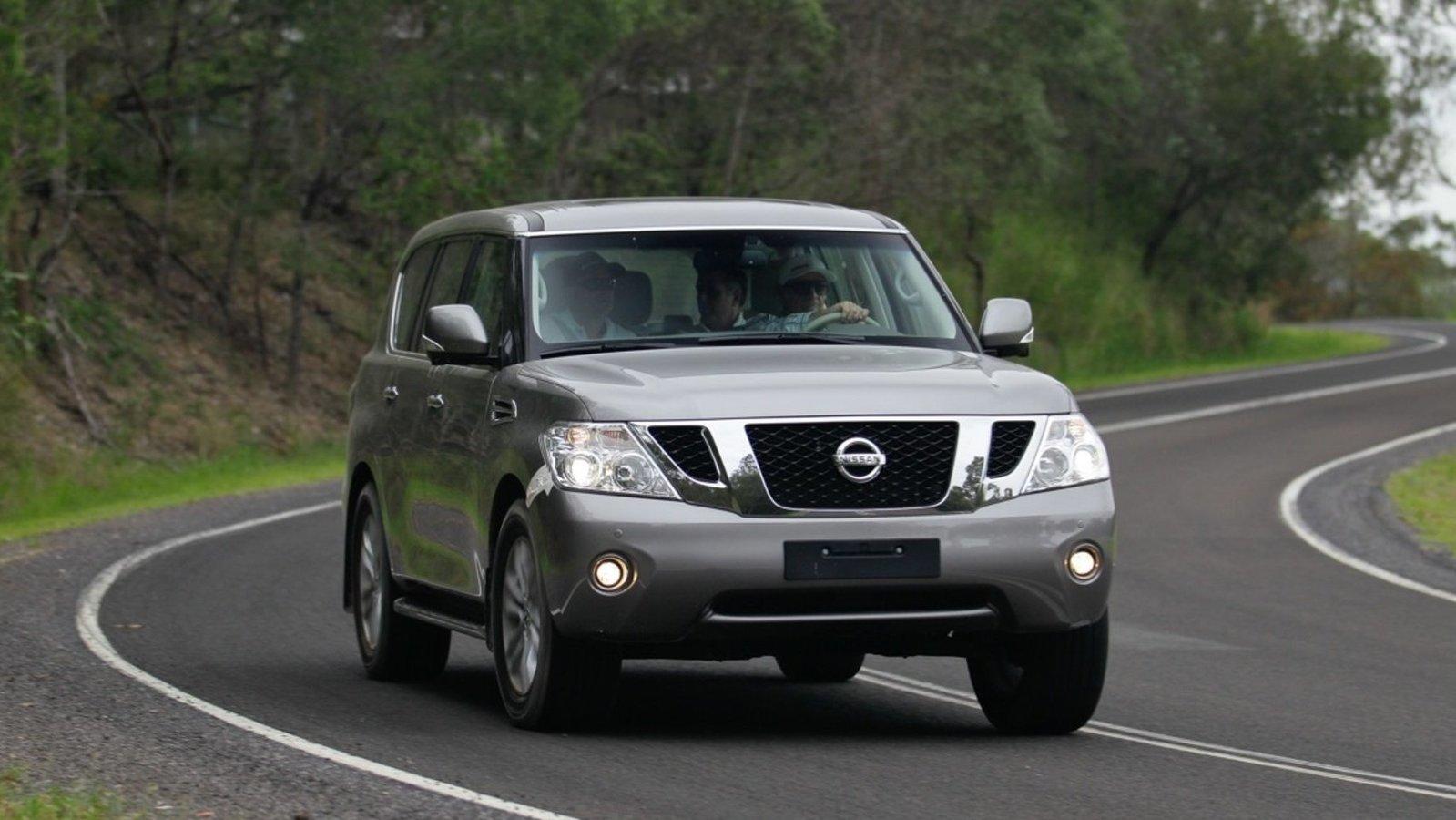 Nissan Patrol IV Y62 (2010-2019)