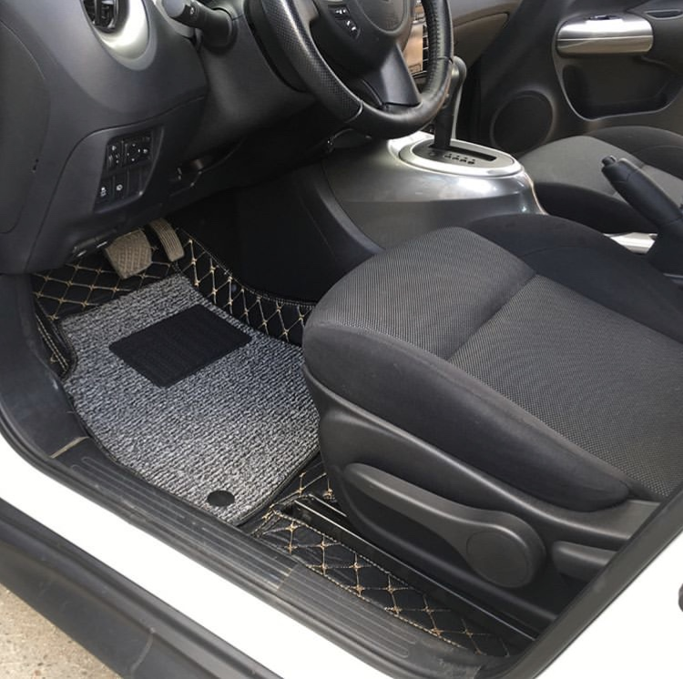 3Д коврики из экокожи для Nissan Juke