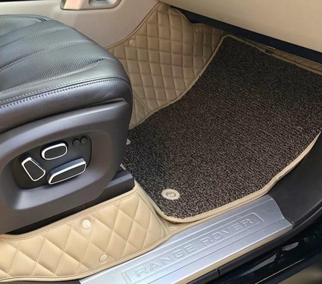 Комплект ЛЮКС- Водительский коврик- Пассажирский коврик- Задний цельный ковер с высокими бортами- Съемные ворсовые коврики