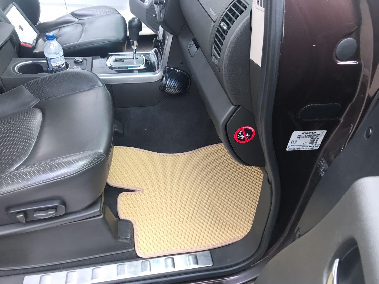 купить автоковрики EVA Nissan Pathfinder III