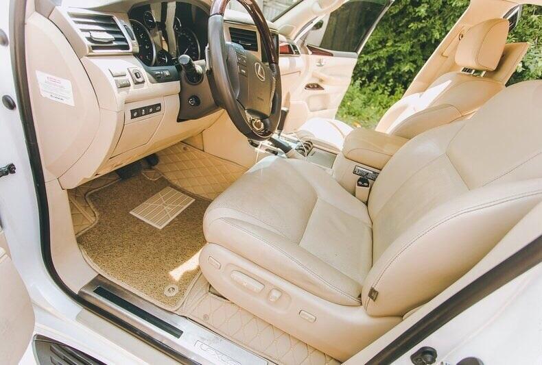 3Д коврики из экокожи для  Lexus LX - 570