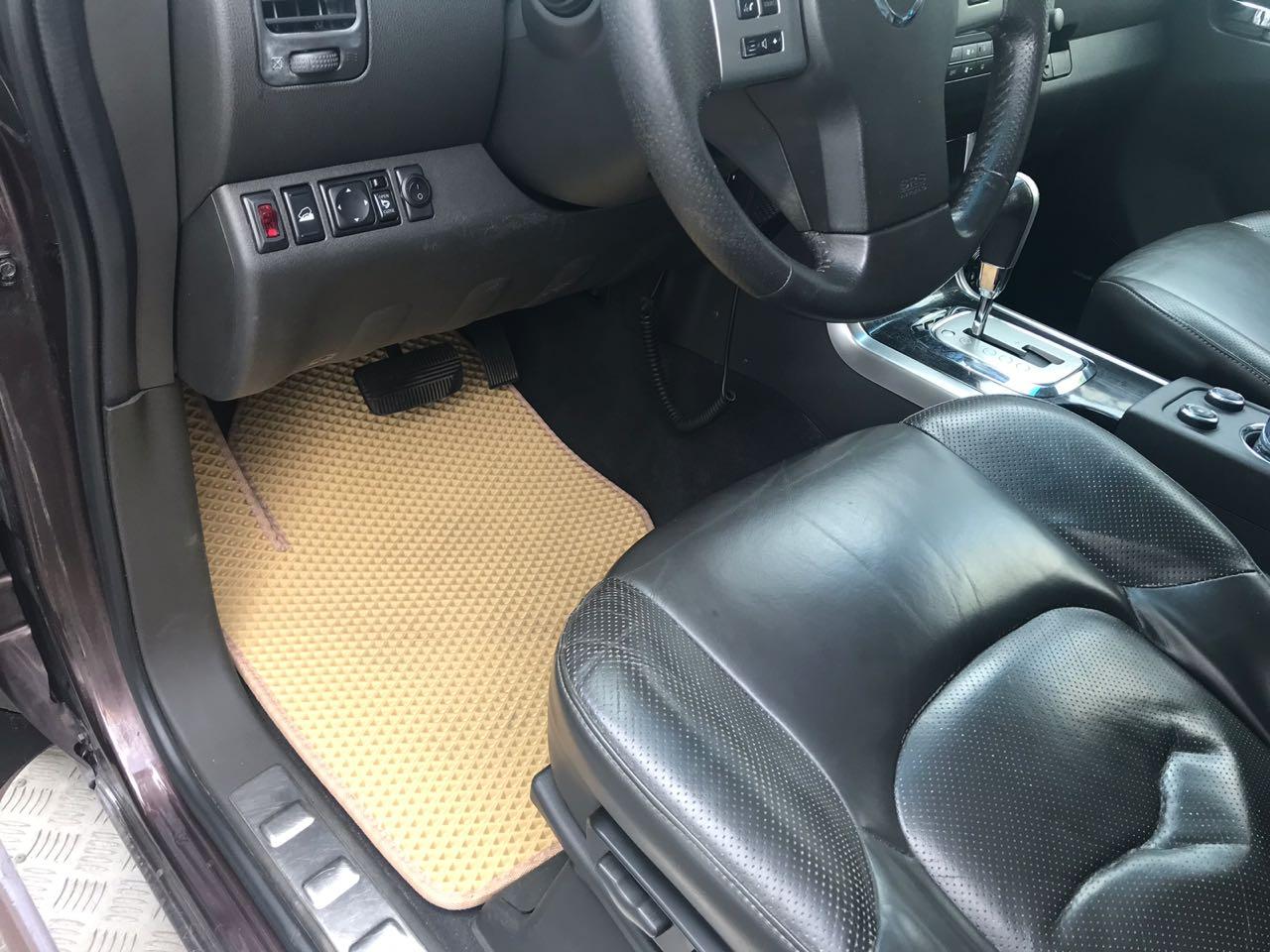 3Д коврики из экокожи для  Nissan Pathfinder III