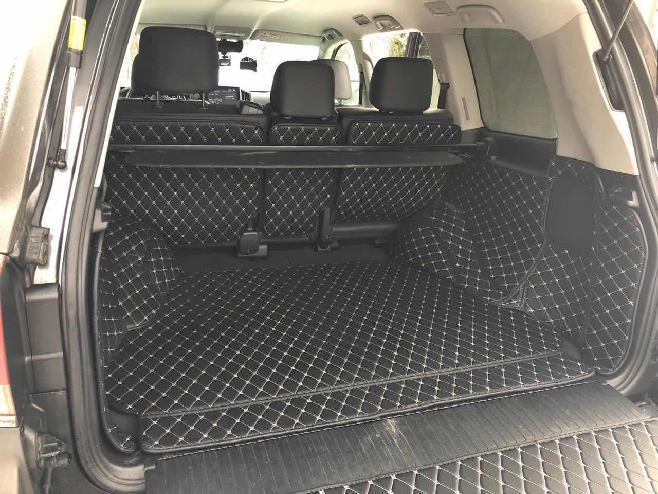 Коврик в багажник (XXL)12000 p.C полным покрытием для Lexus LX, GX, TLC 200, Prado (5 мест)