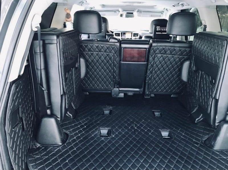 Коврик в багажник (ХXL)13000 p.C полным покрытием для Lexus LX, GX, TLC 200, Prado (7 мест)