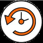 Гибкий графикМы работаем 7 дней в неделю с 9:00 до 23:00.Каждый подбирает удобное для него время.