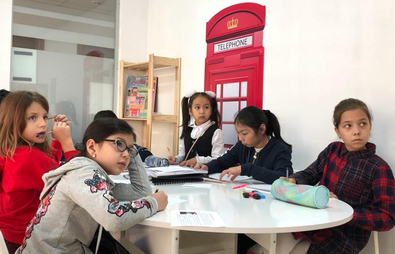 Детские группы (8-12 лет).Развитие говорения, чтения, понимания и письма еще в школьном возрасте