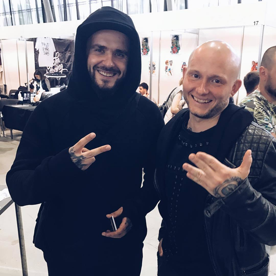 С Владом Барихиным - создателем и владельцем бренда тату-оборудования