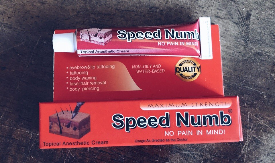 Speed Numb 10g