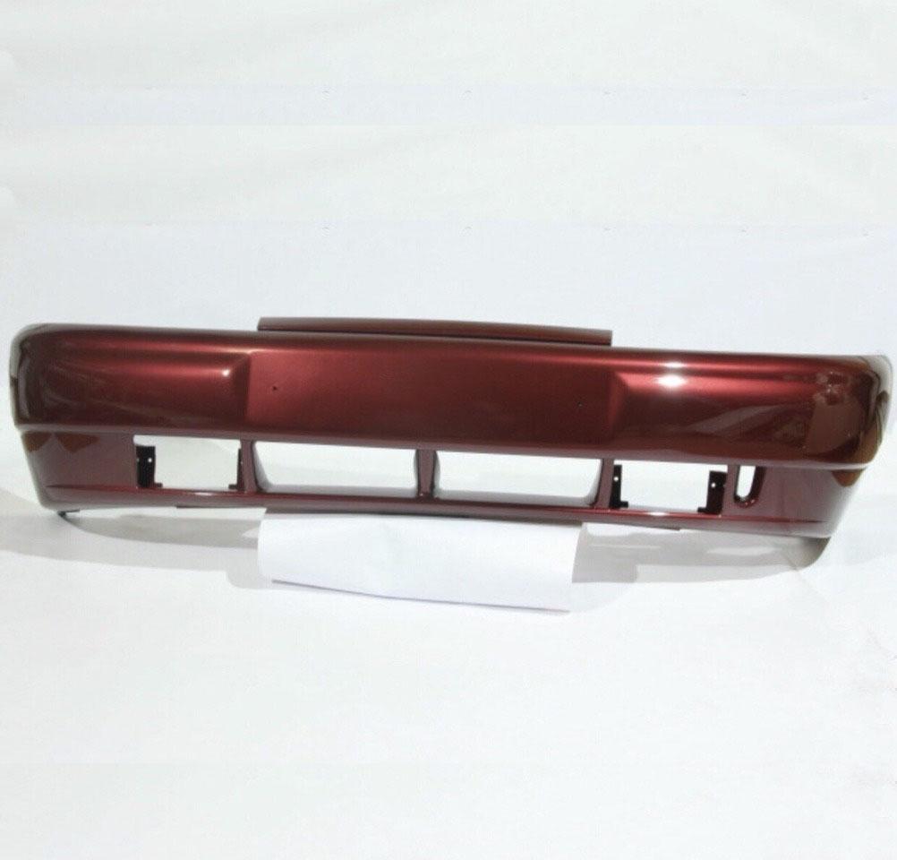 Бампер передний ВАЗ 2110, 2111, 2112 без усилителяБампер аналог, без усилителя. Окрашенный в цвет.