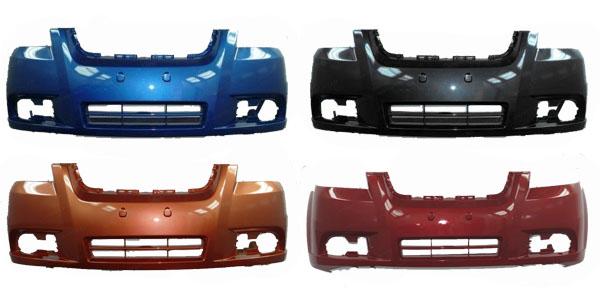 Бампер Шевроле Авео Т250 переднийБампер передний для автомобиля Шевроле Авео Т250 (Chevrolet Aveo T250), окрашенный в заводской цвет. В наличии все цвета завода изготовителя.