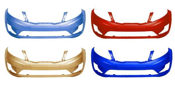 Бампер Kia Rio 2011-2014 переднийБампер Киа Рио до рестайлинг передний, окрашенный в заводской цвет.