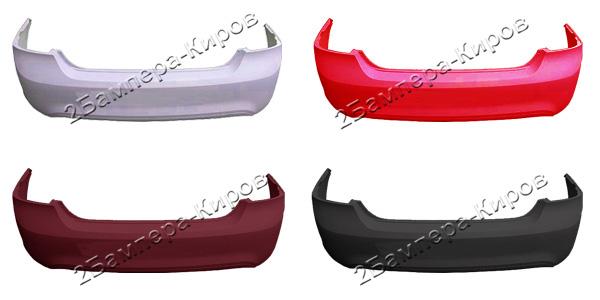 Бампер Форд Фокус 2 заднийБампер задний для автомобиля Форд Фокус 2 (Ford Focus 2), окрашенный в заводской цвет. В наличии все цвета завода изготовителя.
