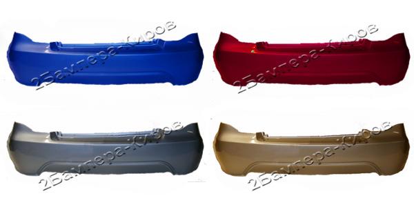 Бампер Daewoo Nexia заднийБампер задний для автомобиля Daewoo Nexia, окрашенный в заводской цвет. В наличии все цвета завода изготовителя.