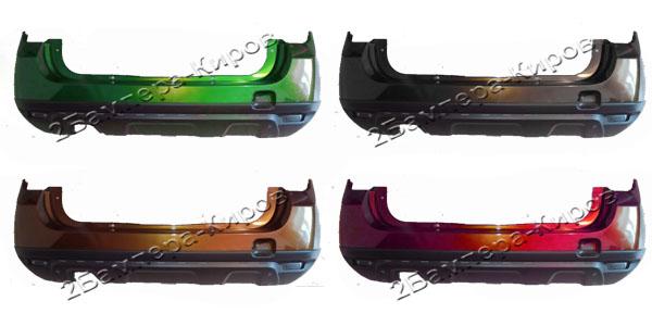БамперRenault DusterзаднийБампер задний для автомобиля Renault Duster, окрашенный в заводской цвет. В наличии все цвета завода изготовителя.