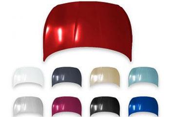 Капот Hyundai Solaris в цвет