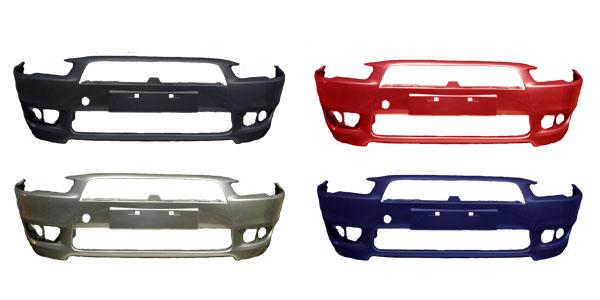 Бампер Mitsubishi Lancer 10 в цвет