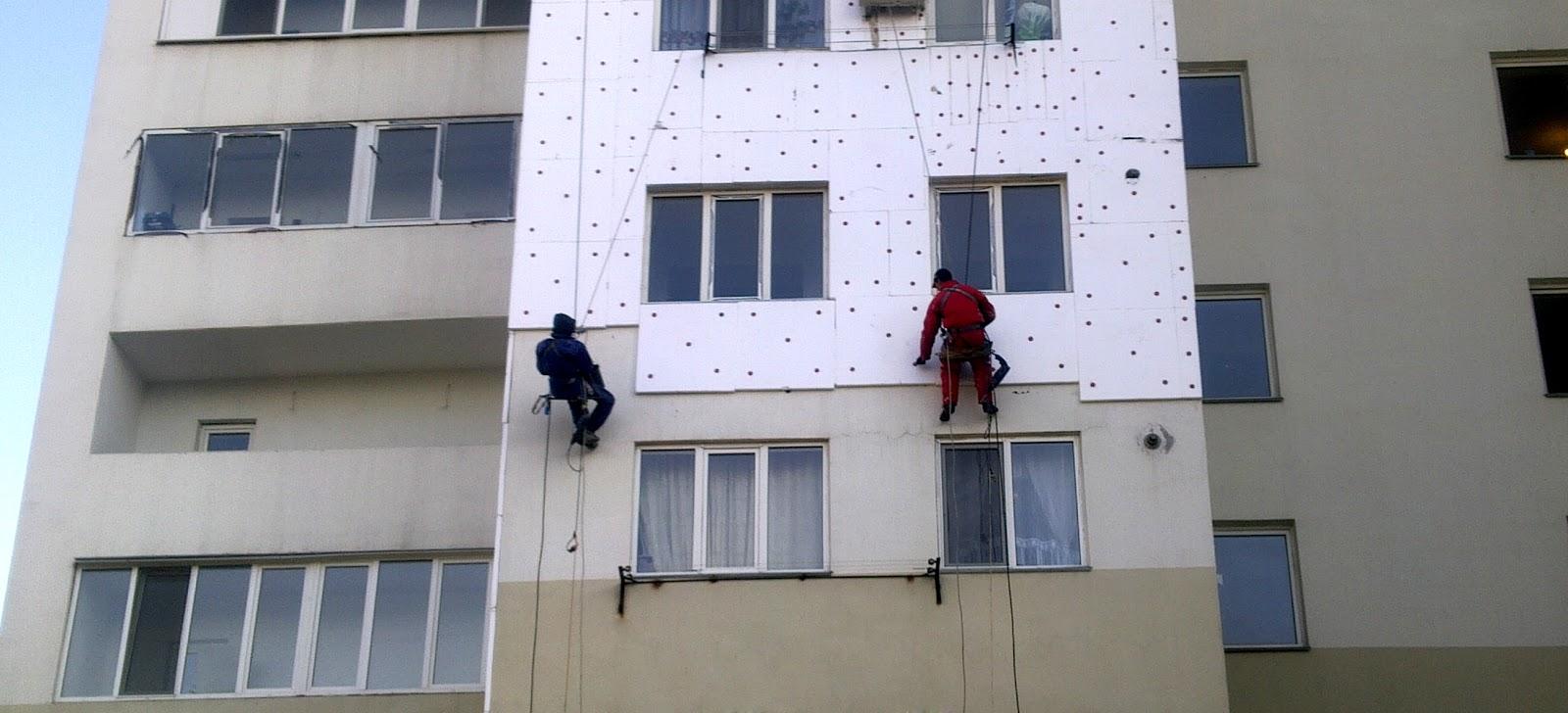 Утепление многоквартирного жилого дома  г.Саратов, ул. Шевырёвская, д.№2  Работы производили с помощью фасадного подъёмника ZLP-630  500м2. Стоимость работ: 700000т.р
