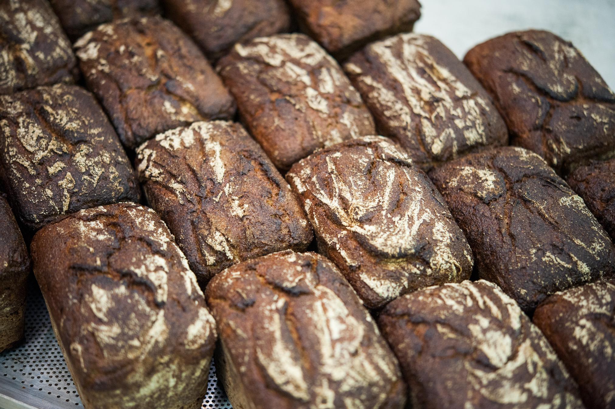 100% заквасочный хлеб Сагале (ржаная мука)