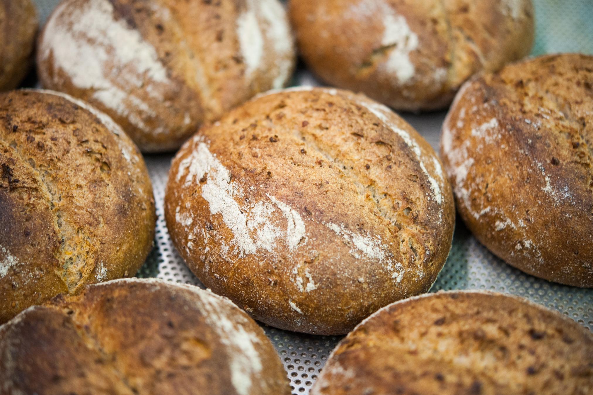 Хлеб с распаренным гречневым зерном