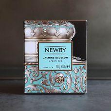 Чай зелёный байховый Jasmine Blossom NewBy
