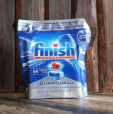 Таблетки для посудомоечных машин Quantum Max Finish 54таб