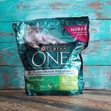 Сухой корм для домашних кошек активная поддержка ONE