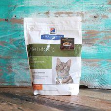 Корм для кошек Hill`s Prescription Diet Metabolic Weight Management для снижения веса с курицей