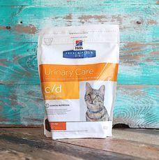Корм для кошек Hill`s Prescription Diet c/d Urinary Care для лечения и профилактики мочекаменной болезни с курицей