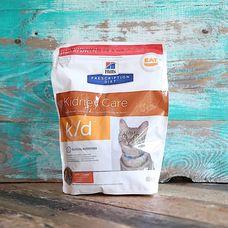 Корм для кошек Hill`s Prescription Diet k/d Kidney Care с заболеваниями почек с курицей