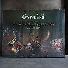 Greenfield Набор 12 видов листового чая и чайного напитка в пакетиках-пирамидках 60 шт