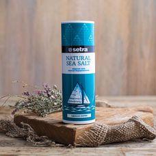 Морская йодированная соль мелкого помола «Setra»