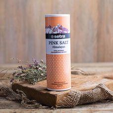 Розовая соль мелкого помола «Setra»