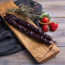 Чурчхела виноградная с грецким орехом