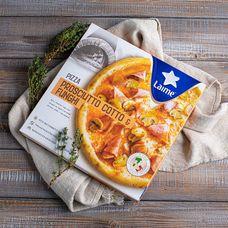 Пицца с ветчиной и грибами Италия