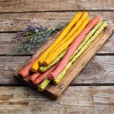 Хлебные палочки Гриссини цветные