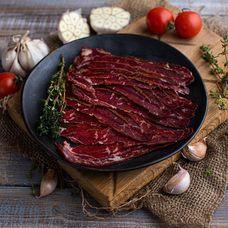 Бастурма из говядины сыровяленая