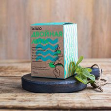 Травяной чай «Двойная мята» 20 пакетиков