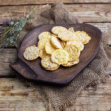 Кукурузные мини-снеки с оливковым маслом БИО