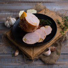 Рулет мясной «Куропатка с апельсиновым соусом»