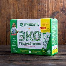 Биоразлагаемый порошок для стирки «Synergetic», концентрированный, универсальный, гипоаллергенный