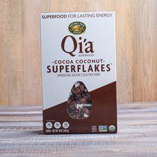 Органические хлопья с какао и кокосом